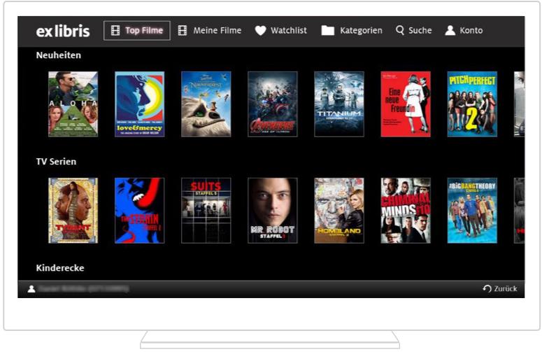 ex libris-smart-tv-app